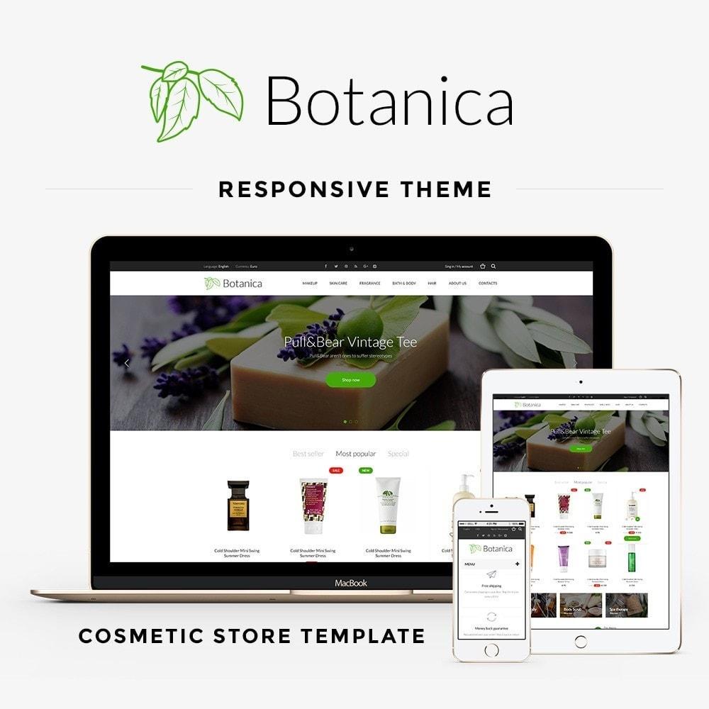 theme - Santé & Beauté - Botanica Cosmetics - 1
