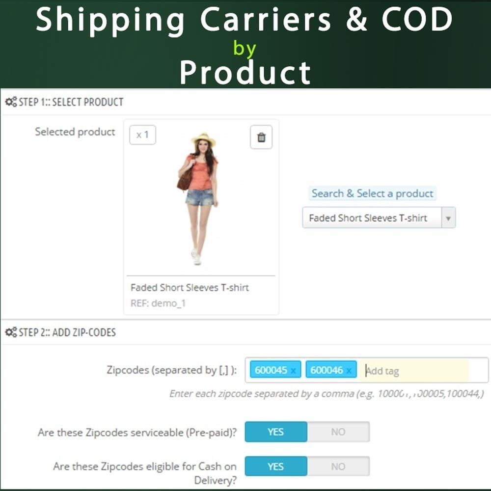 module - Cash On Delivery (COD) - Cash on Delivery COD & Shipping Fee by Zipcode, Product - 10