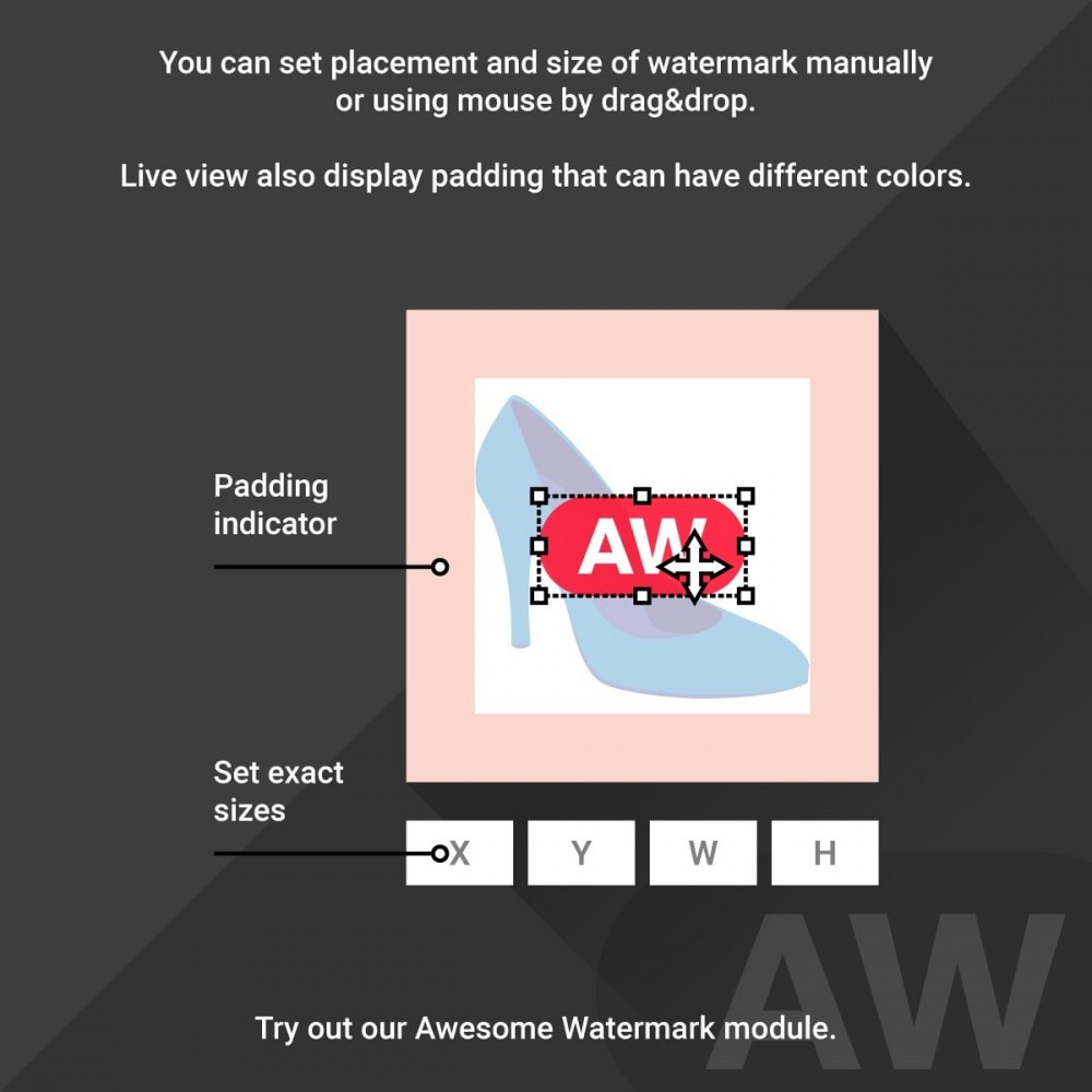 module - Etiquettes & Logos - Awesome watermark and AJAX product photo regeneration - 4