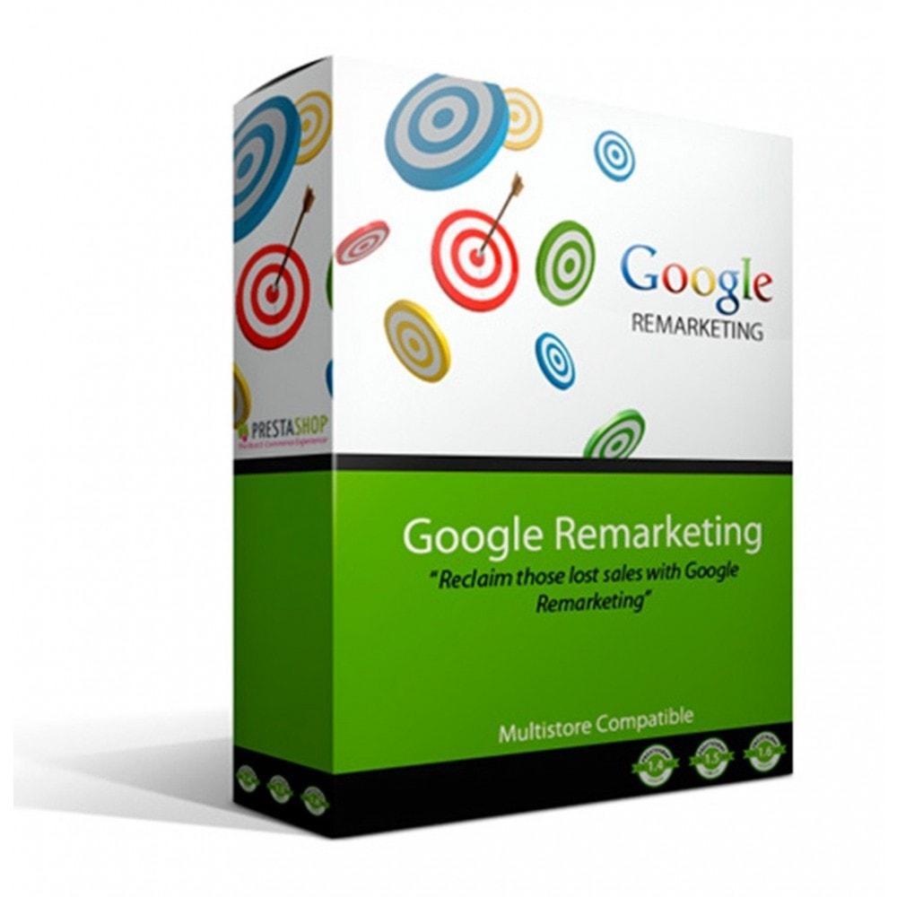 module - Remarketing & Paniers Abandonnés - Google Remarketing Tag Integration - 1
