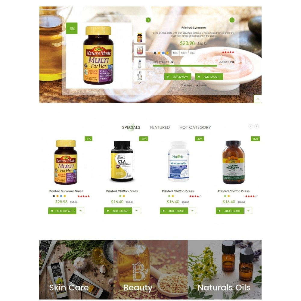 theme - Santé & Beauté - LeafCare - Bio Medical Store - 3