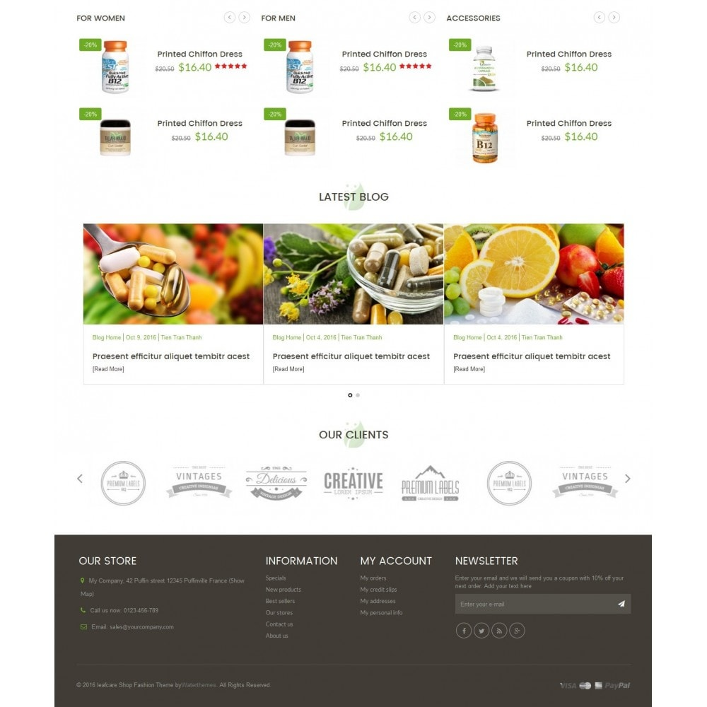 theme - Santé & Beauté - LeafCare - Bio Medical Store - 4