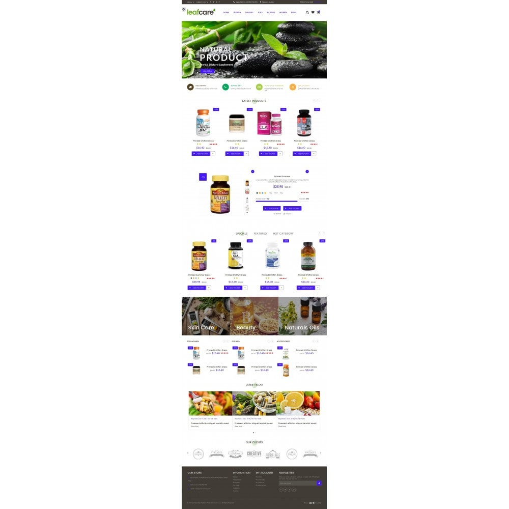 theme - Health & Beauty - LeafCare - Bio Medical Store - 6