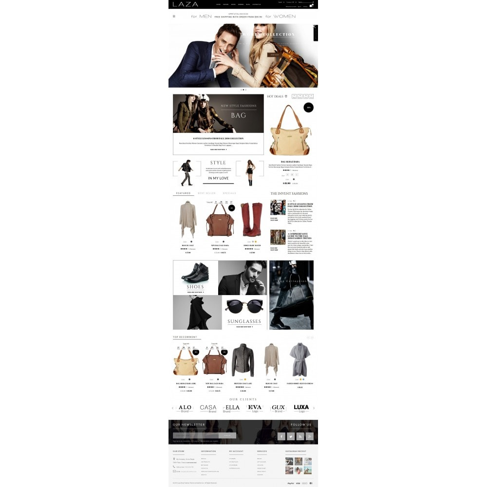 theme - Moda & Calzature - Laza Fashion Store - 3