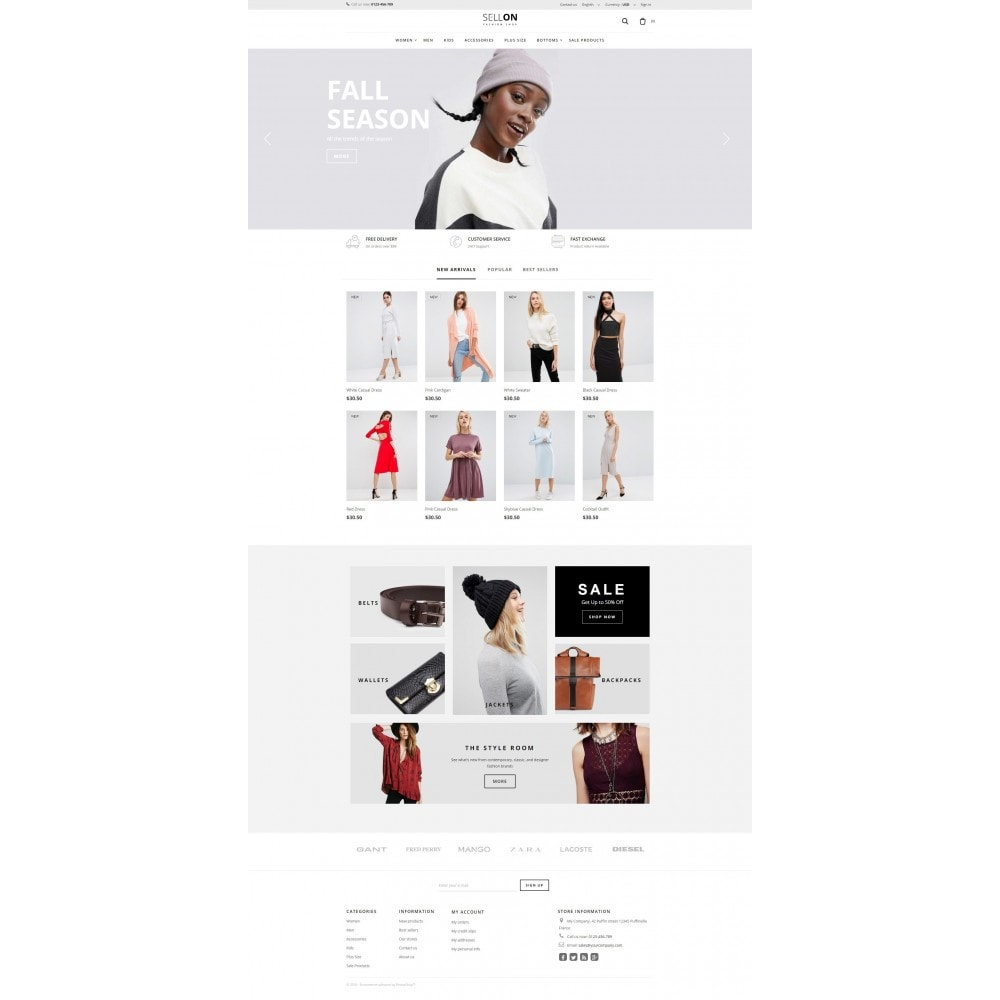 theme - Moda & Calzature - Sellon - 1
