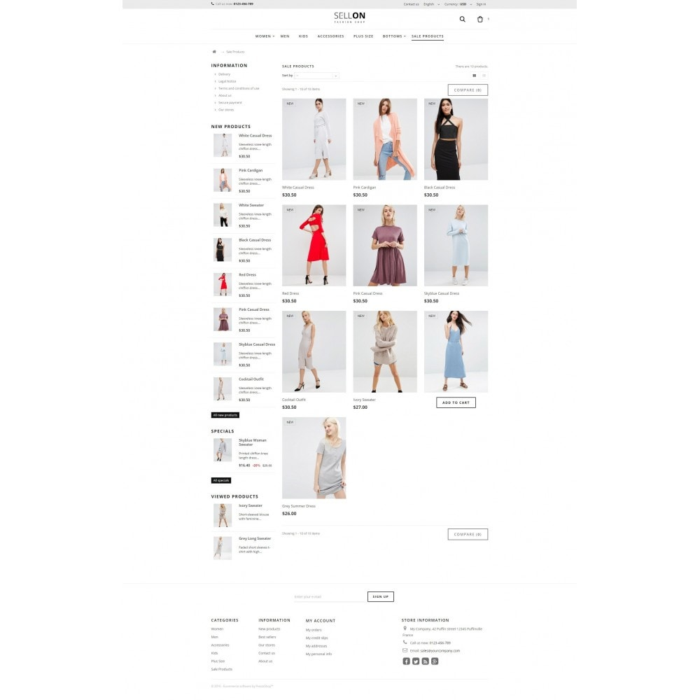 theme - Moda & Calzature - Sellon - 3