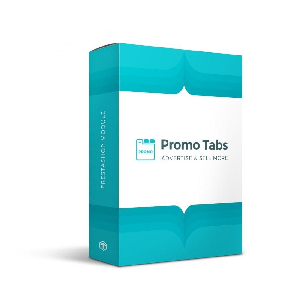 module - Blocs, Onglets & Bannières - Promo Tabs - 1