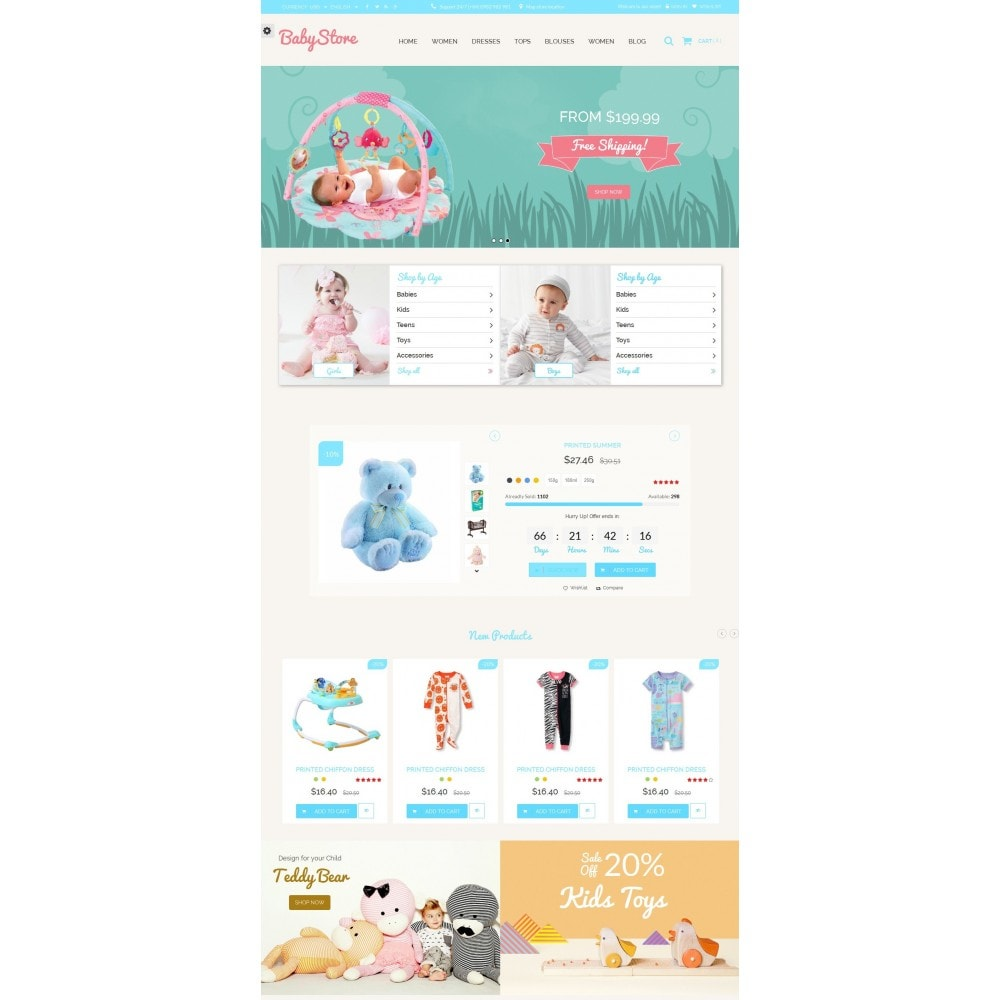 theme - Kinder & Spielzeug - Smart Baby And Kids Store - 4