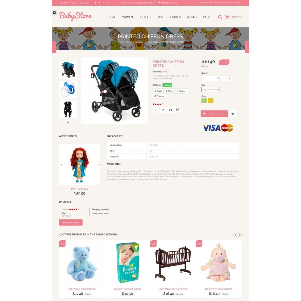 theme - Kids & Toys - Smart Baby And Kids Store - 7
