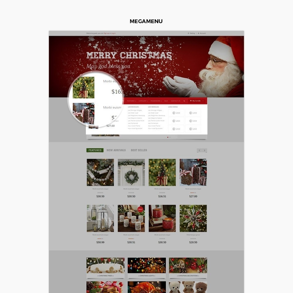 theme - Подарки, Цветы и праздничные товары - Leo Moonsun Christmas - 4