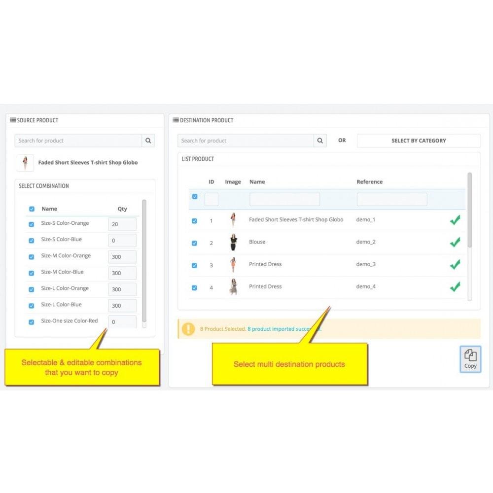 module - Fast & Mass Update - Copy Combination - 1