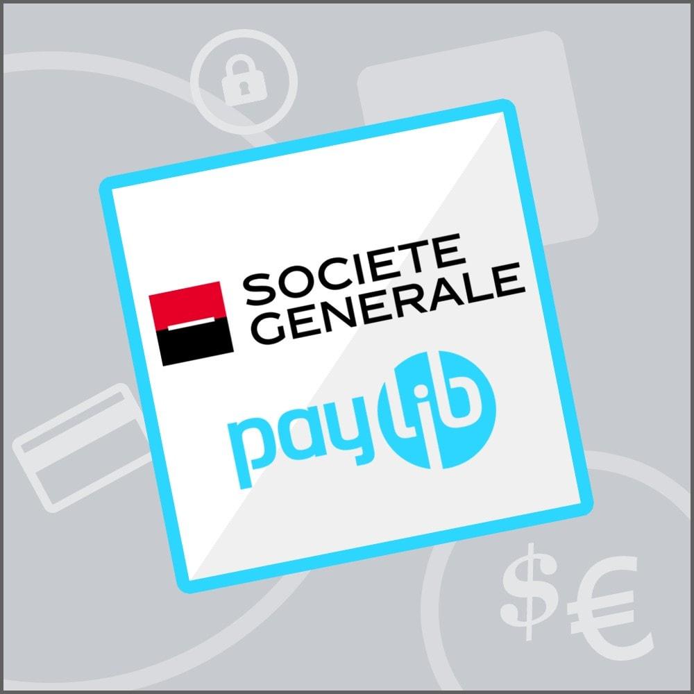 module - Paiement par Carte ou Wallet - Sogenactif 2.0 - Société Générale Atos Sips Worldline - 1