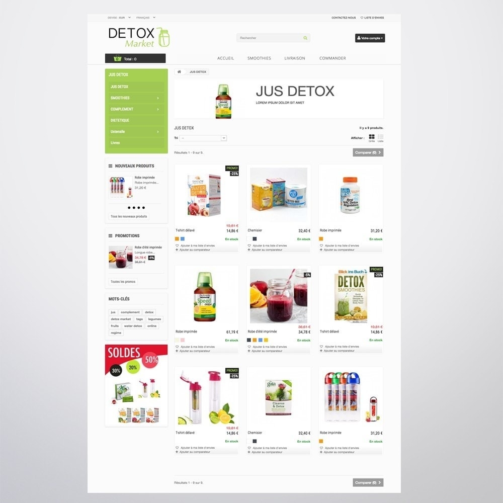 theme - Health & Beauty - Detox Market - 11