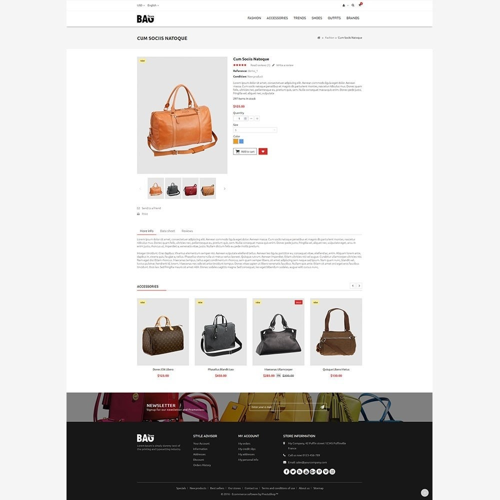 theme - Moda & Calçados - Bag Store - 7