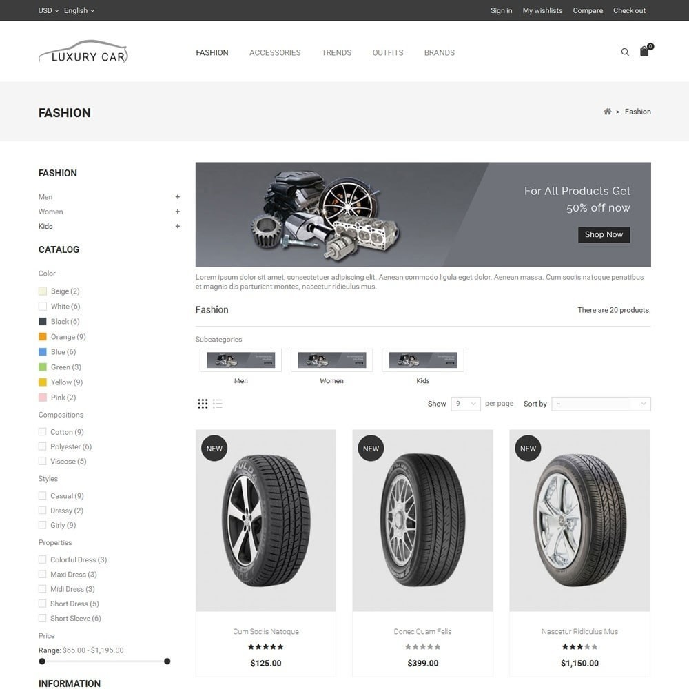Luxury Car Store