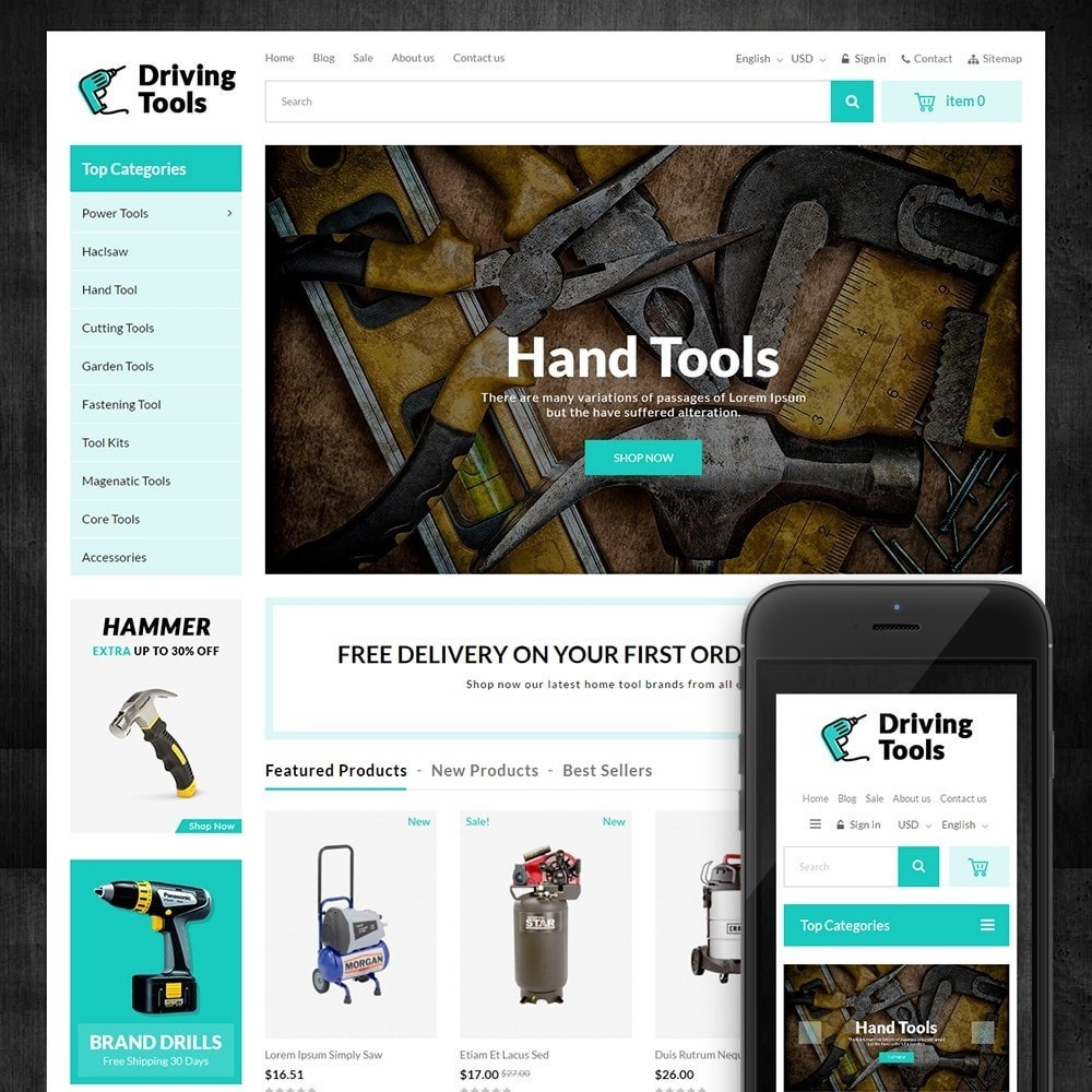 Driving Tools Store