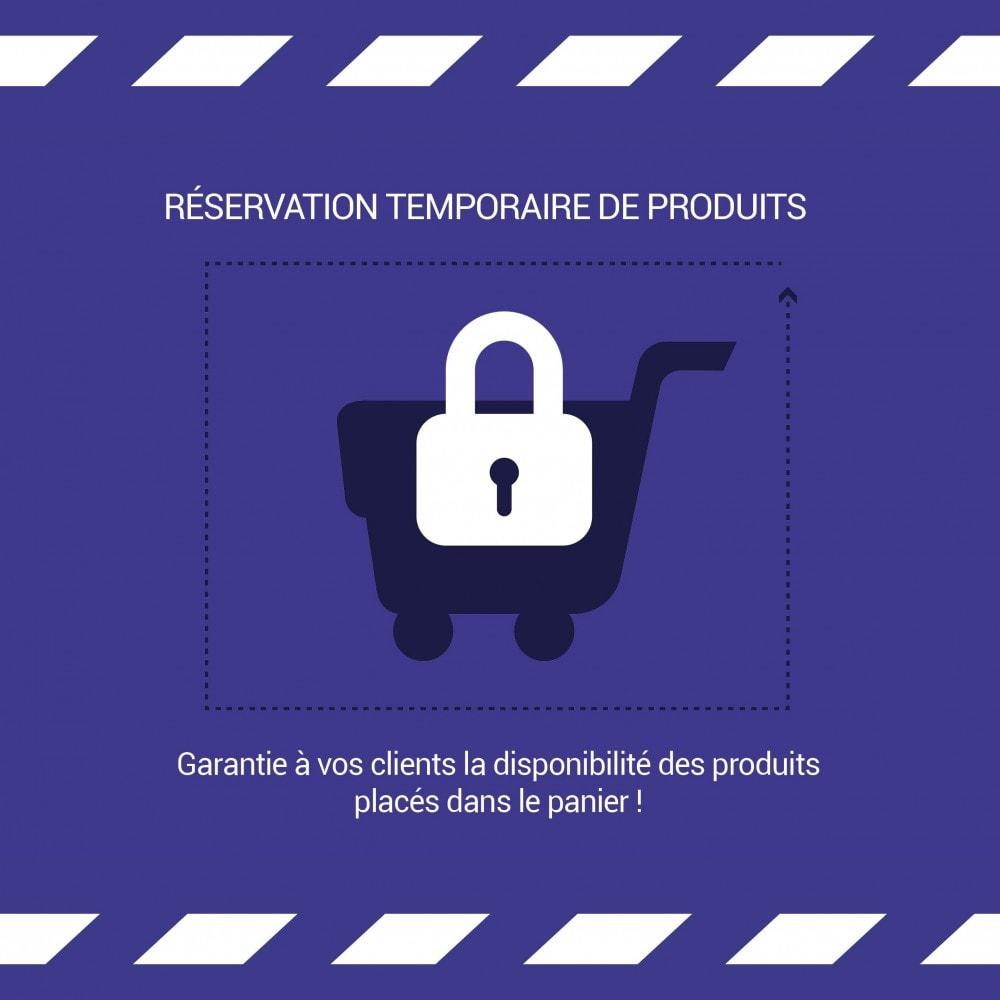 module - Gestion des Stocks & des Fournisseurs - Réservation temporaire de produit - LonelyStock - 1