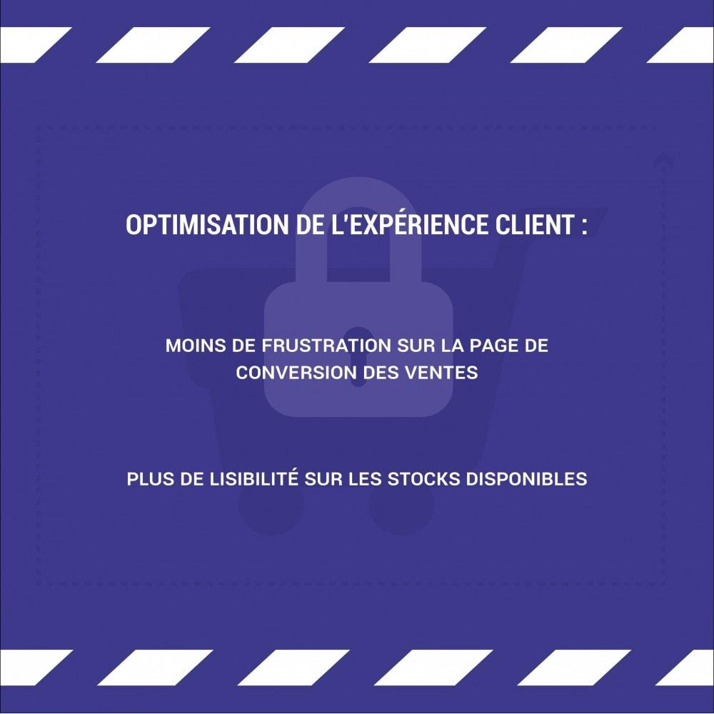 module - Gestion des Stocks & des Fournisseurs - Réservation temporaire de produit - LonelyStock - 3
