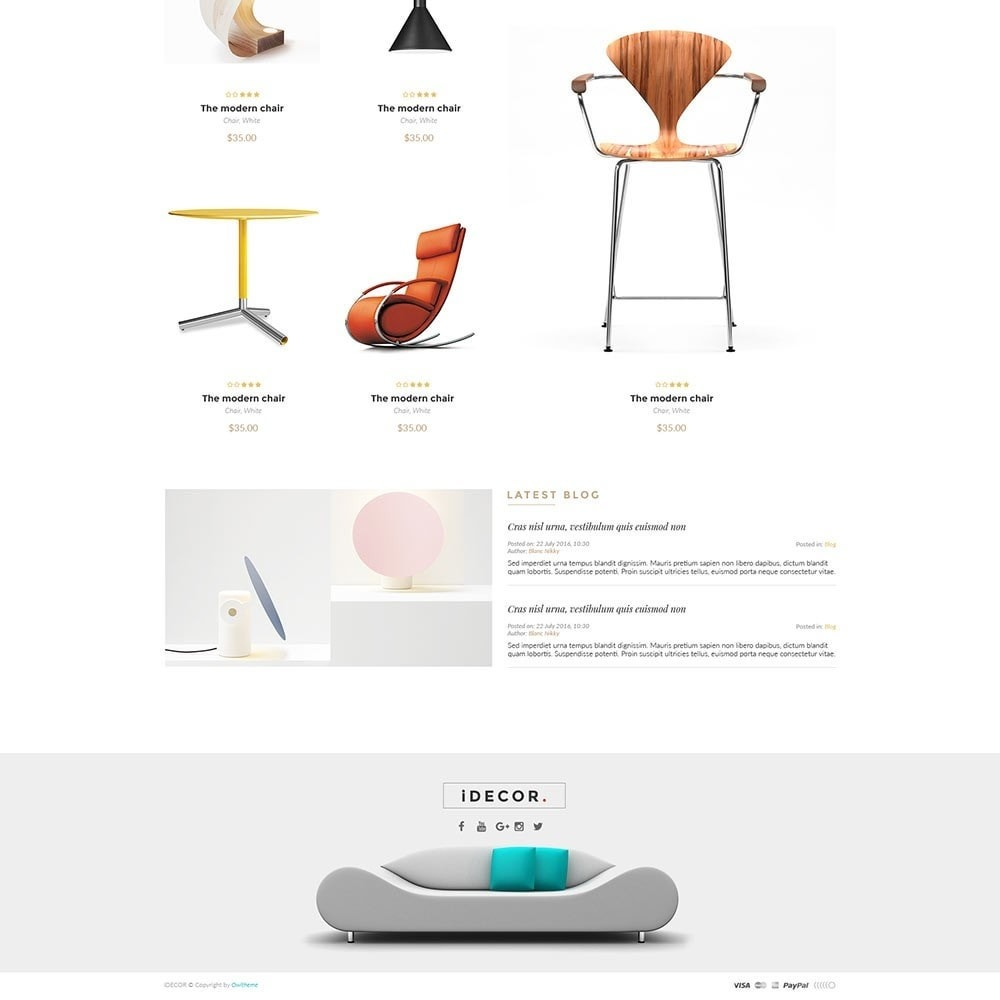 theme - Дом и сад - Idecor Furniture - 4