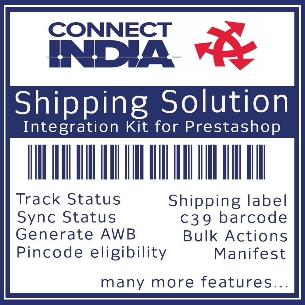 module - Transporteurs - Connect India Tracking and Shipping Solution - 1