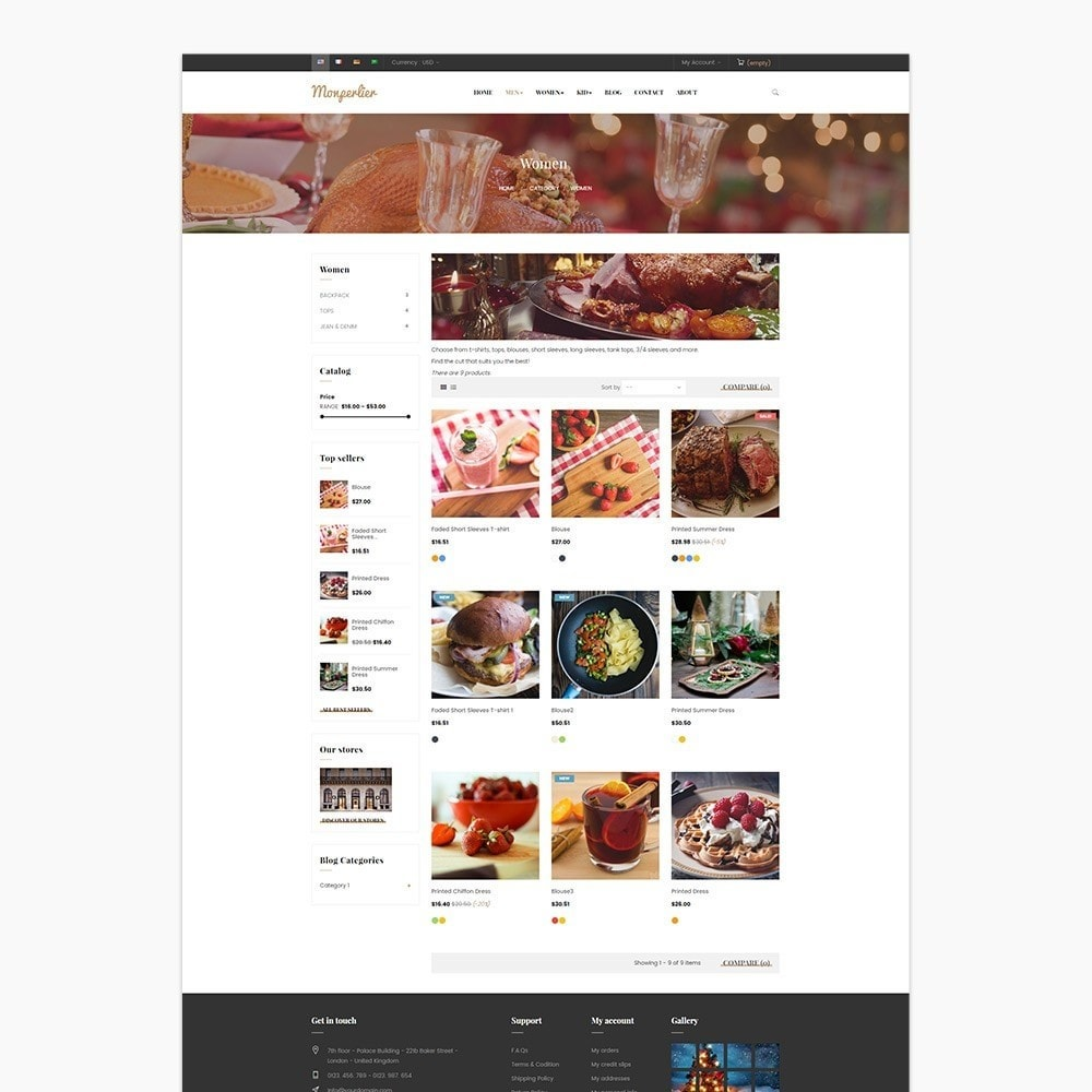 theme - Lebensmittel & Restaurants - Ap Clause - 4