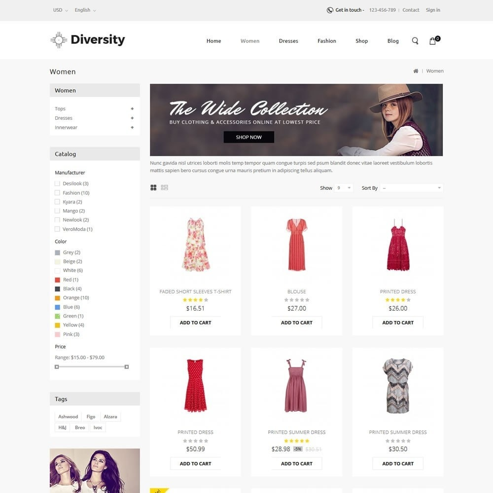 theme - Moda & Calzature - Diversity - Fashion Store - 3