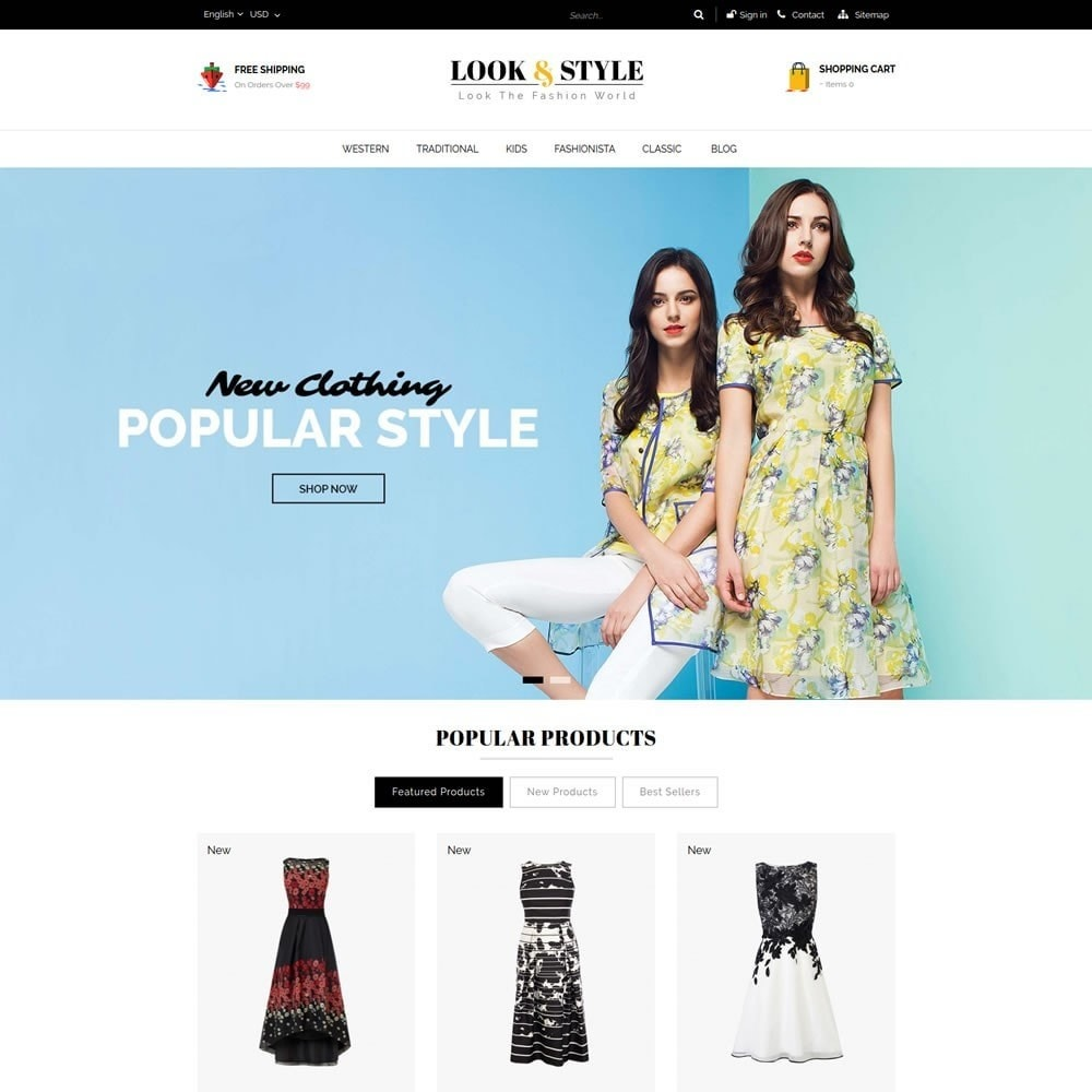 Look & Style - Fashion Store