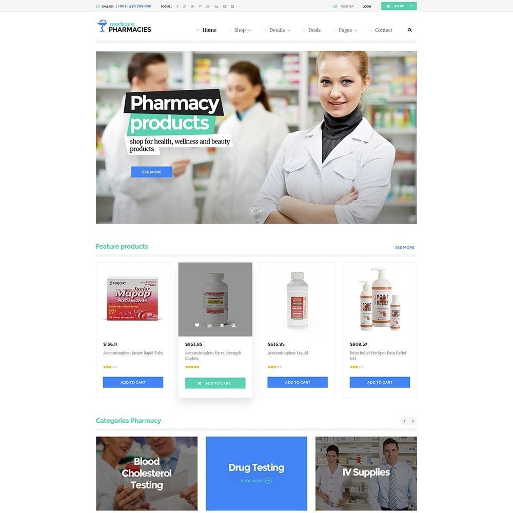 Pts media pharmacy