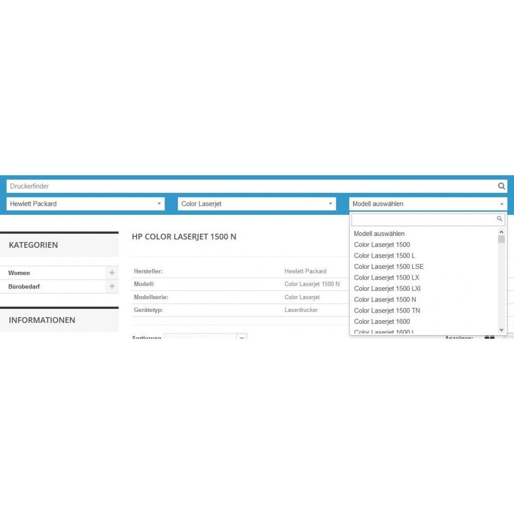 module - Suche & Filter - Tinten und Toner Finder (TopFINDER) - 3