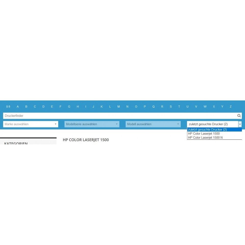module - Suche & Filter - Tinten und Toner Finder (TopFINDER) - 4