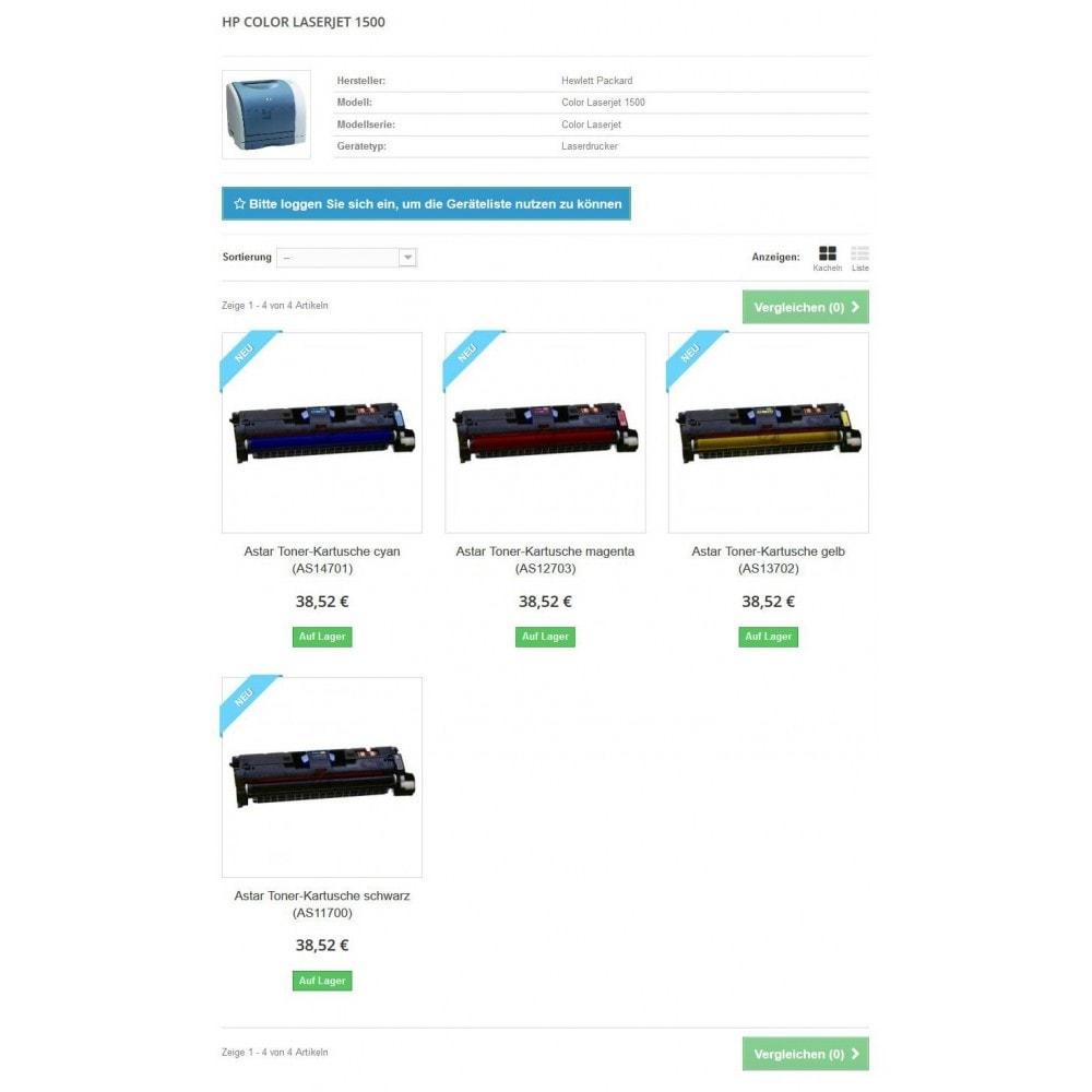 module - Suche & Filter - Tinten und Toner Finder (TopFINDER) - 6