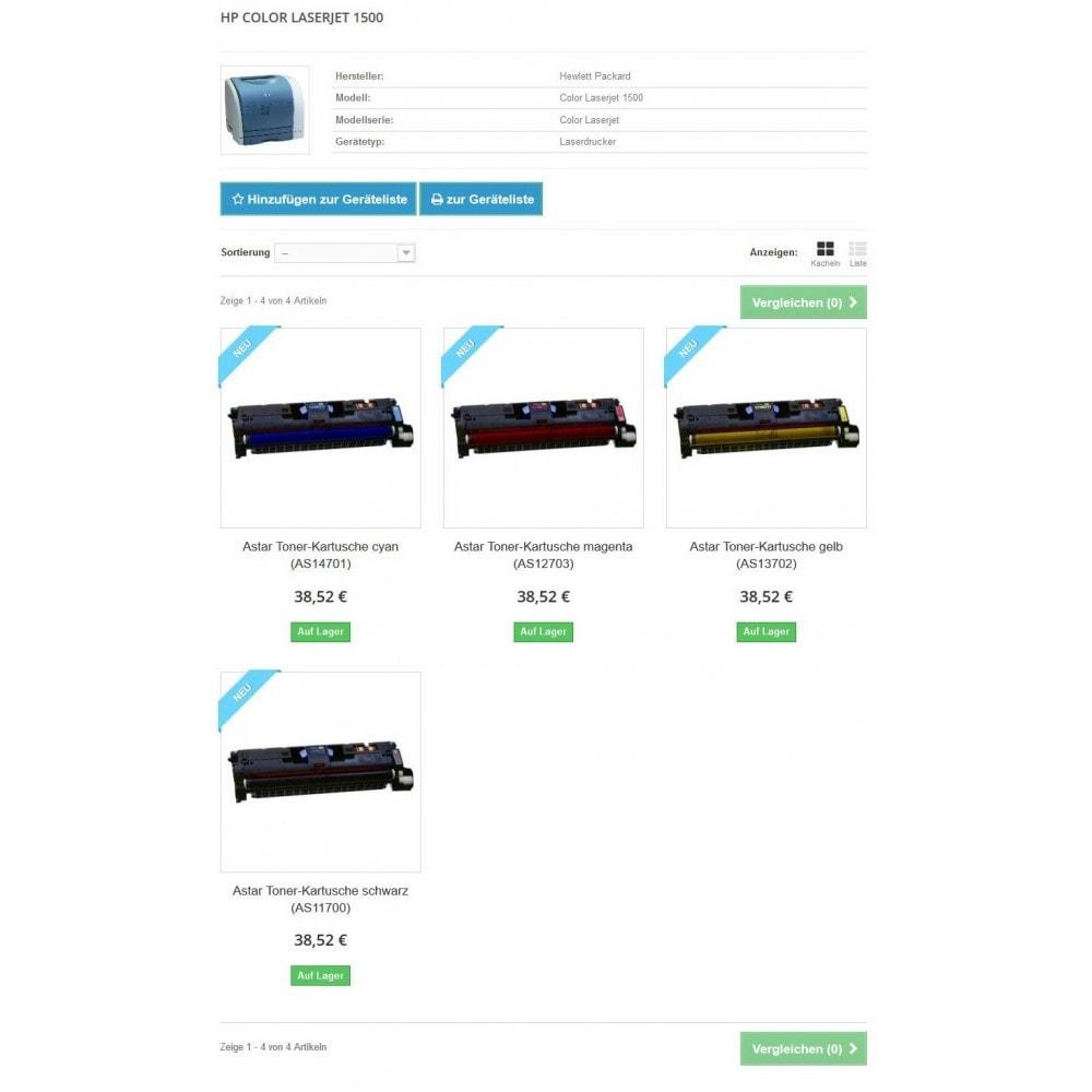 module - Suche & Filter - Tinten und Toner Finder (TopFINDER) - 7
