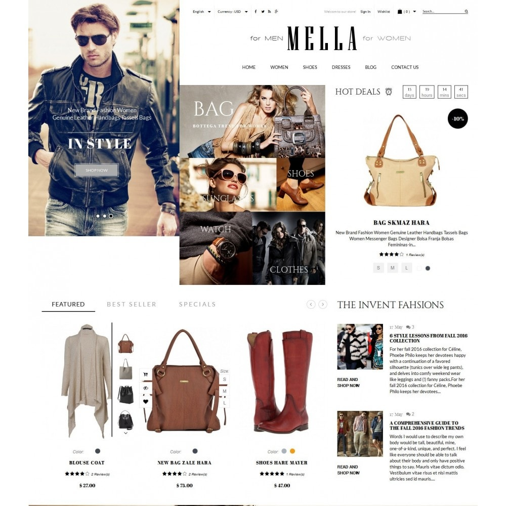 Mella Fashion Store