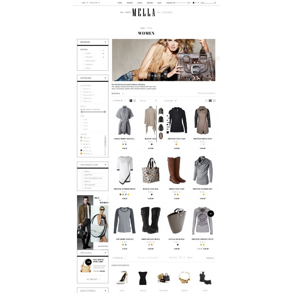 theme - Mode & Schuhe - Mella Fashion Store - 4