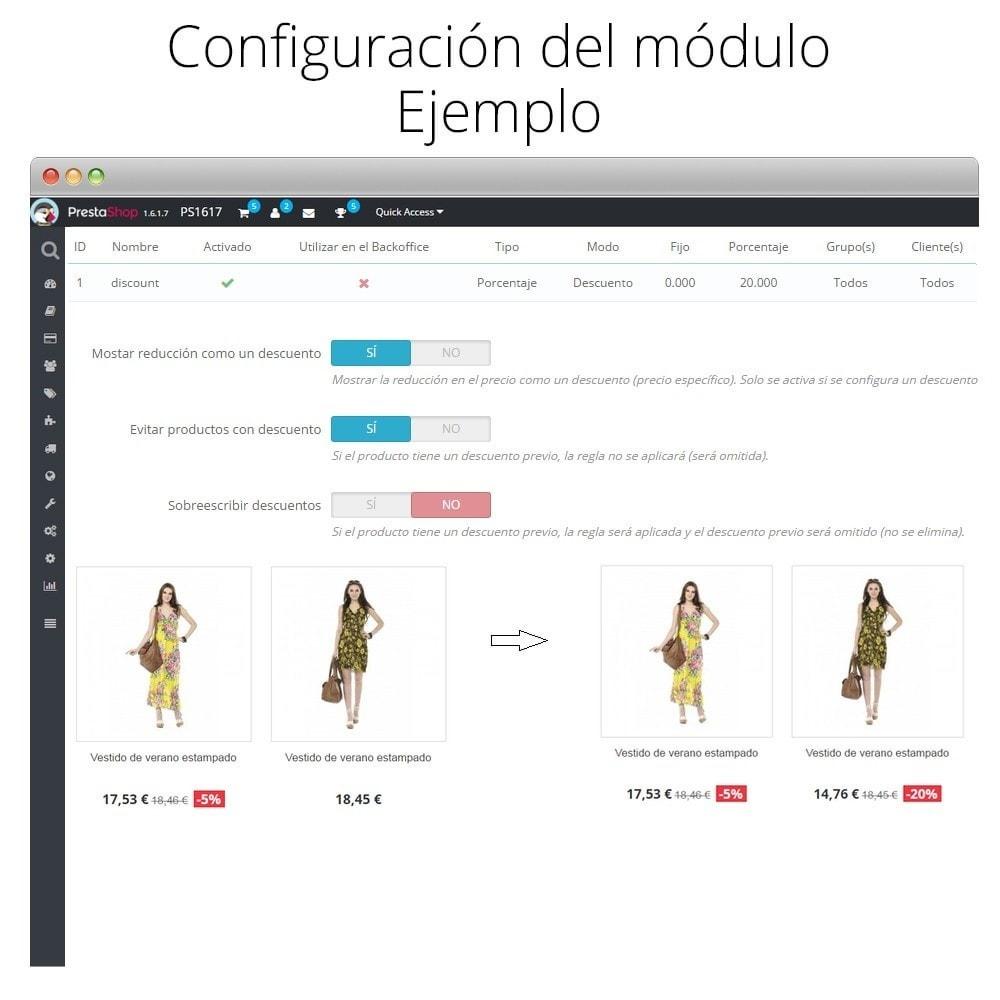 module - Promociones y Regalos - Incremento/Descuento de precio por grupo, categoría... - 8