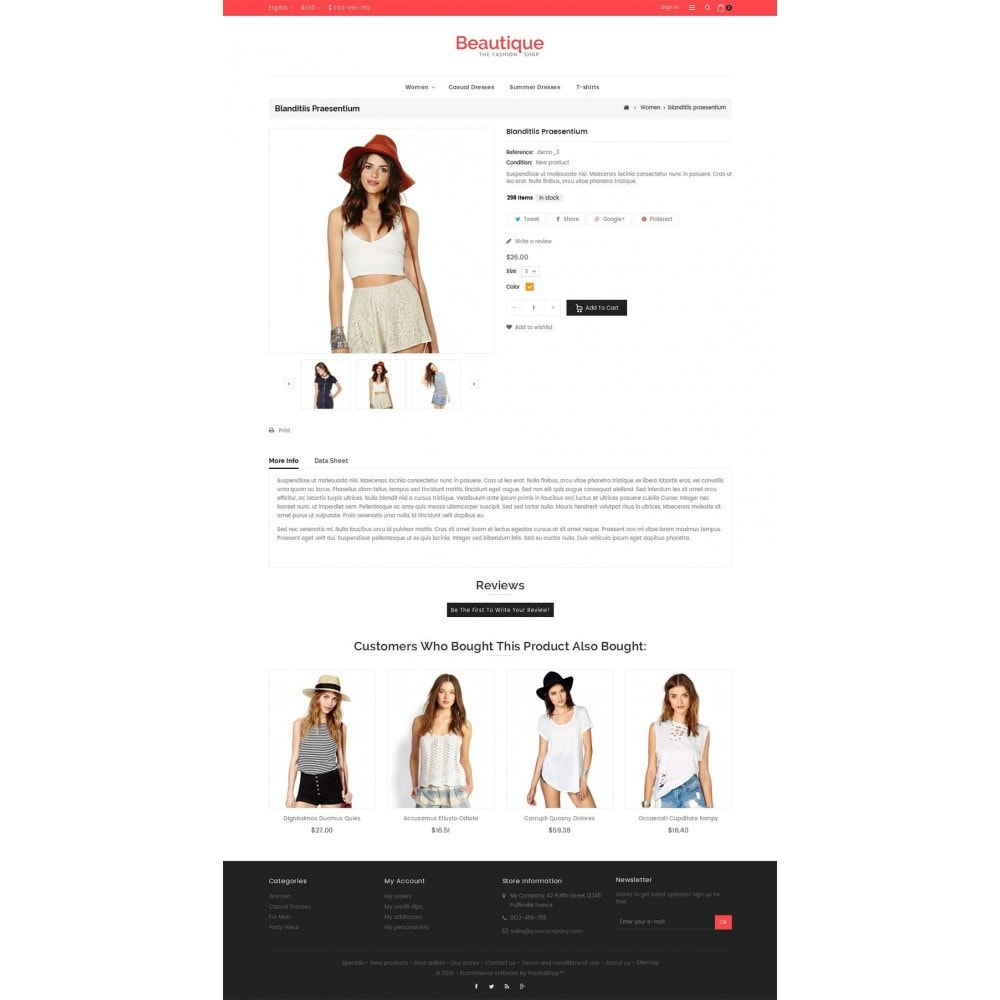 theme - Moda y Calzado - Beautique Fashion Store - 5