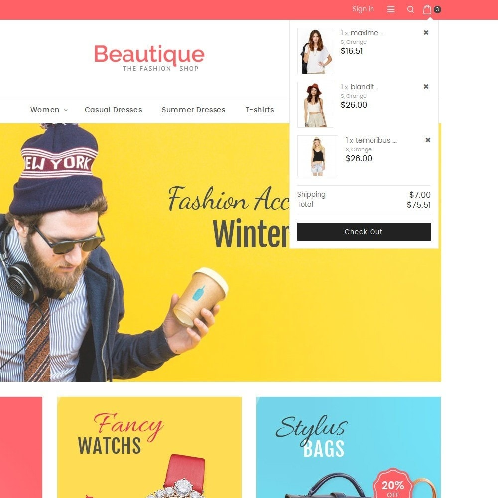 theme - Moda & Calzature - Beautique Fashion Store - 10