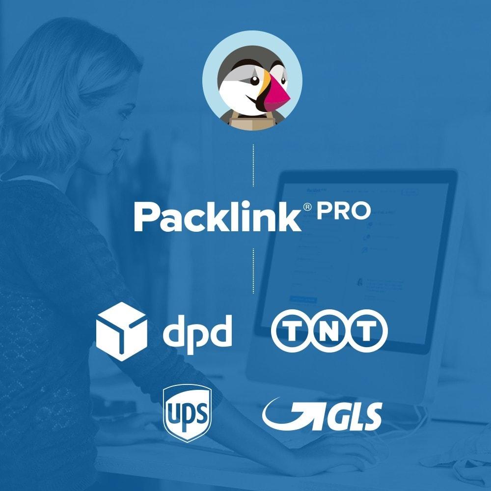 module - Versandkosten - Versandplattform Packlink PRO - 1