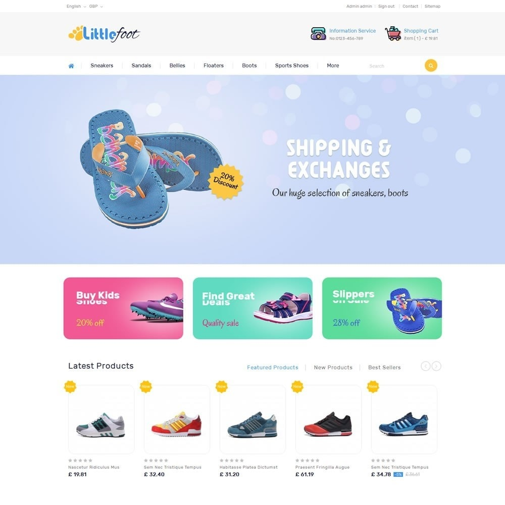 Little Foot - Kids Store
