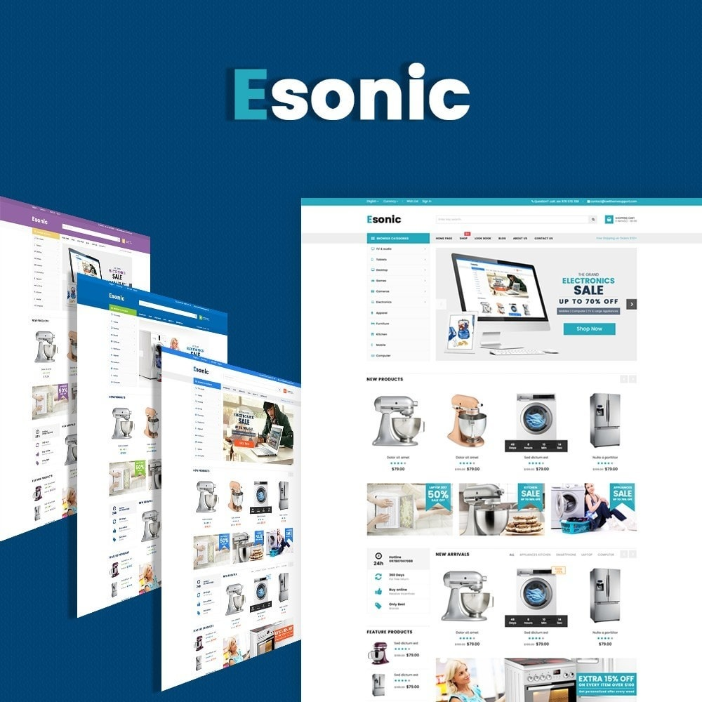 Esonic Suppermarket Store