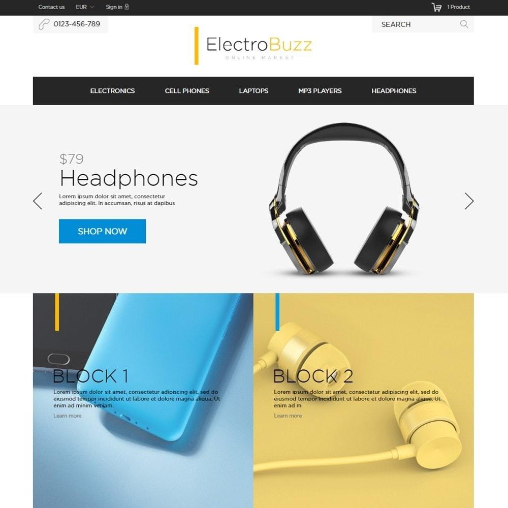 theme - Elektronik & High Tech - Electrobuzz High-tech Shop - 2