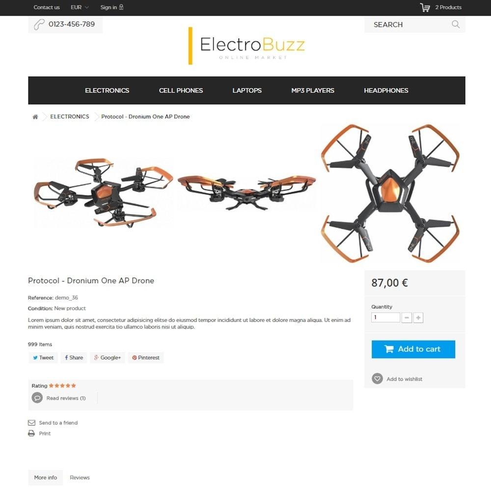 theme - Elektronik & High Tech - Electrobuzz High-tech Shop - 8
