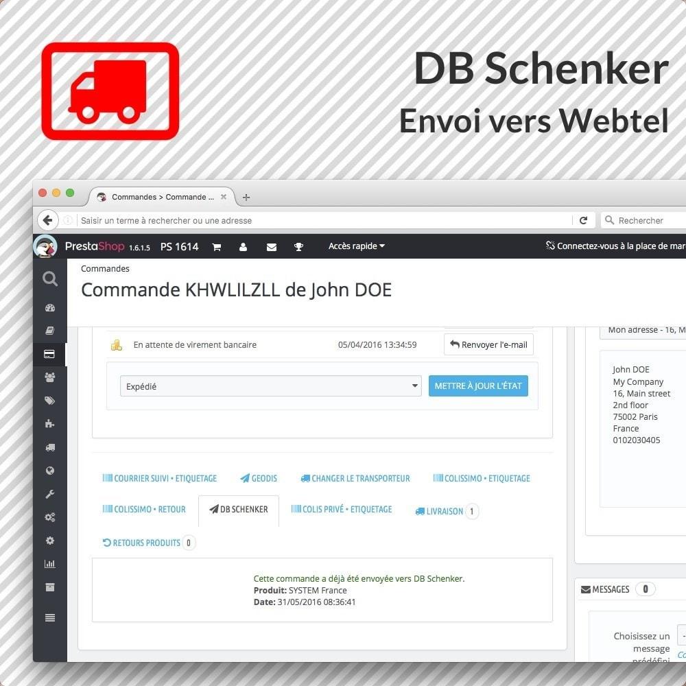 module - Voorbereiding & Verzending - DB Schenker - 2
