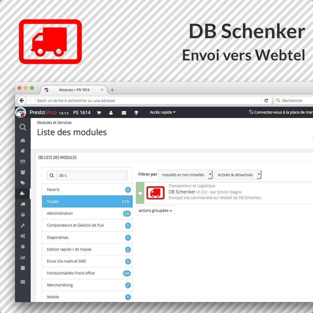 module - Préparation & Expédition - DB Schenker France - 2