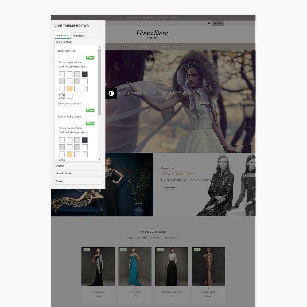 theme - Moda y Calzado - Ap Gown Store - 3