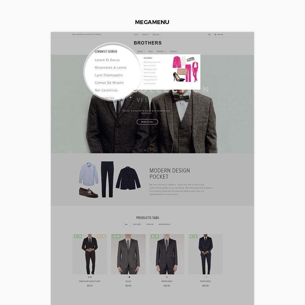 theme - Mode & Chaussures - Leo Suits Store - 4