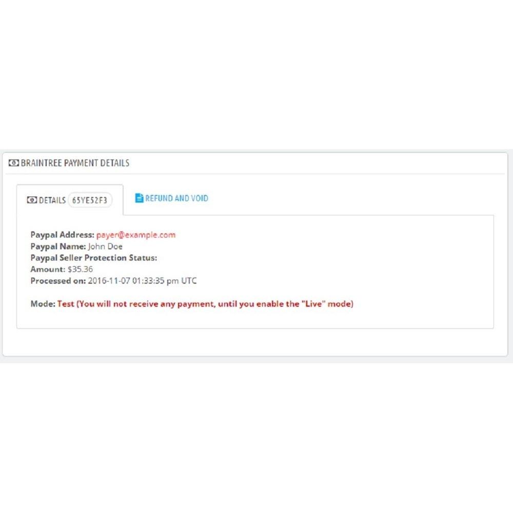 module - Creditcardbetaling of Walletbetaling - Braintree - 8