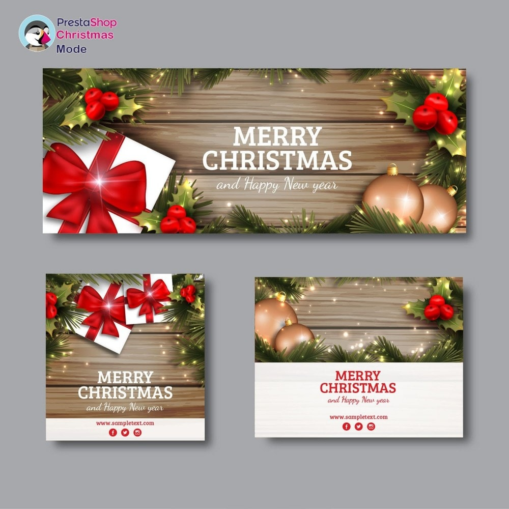 module - Page Customization - Christmas Mode - Shop design customizer - 7