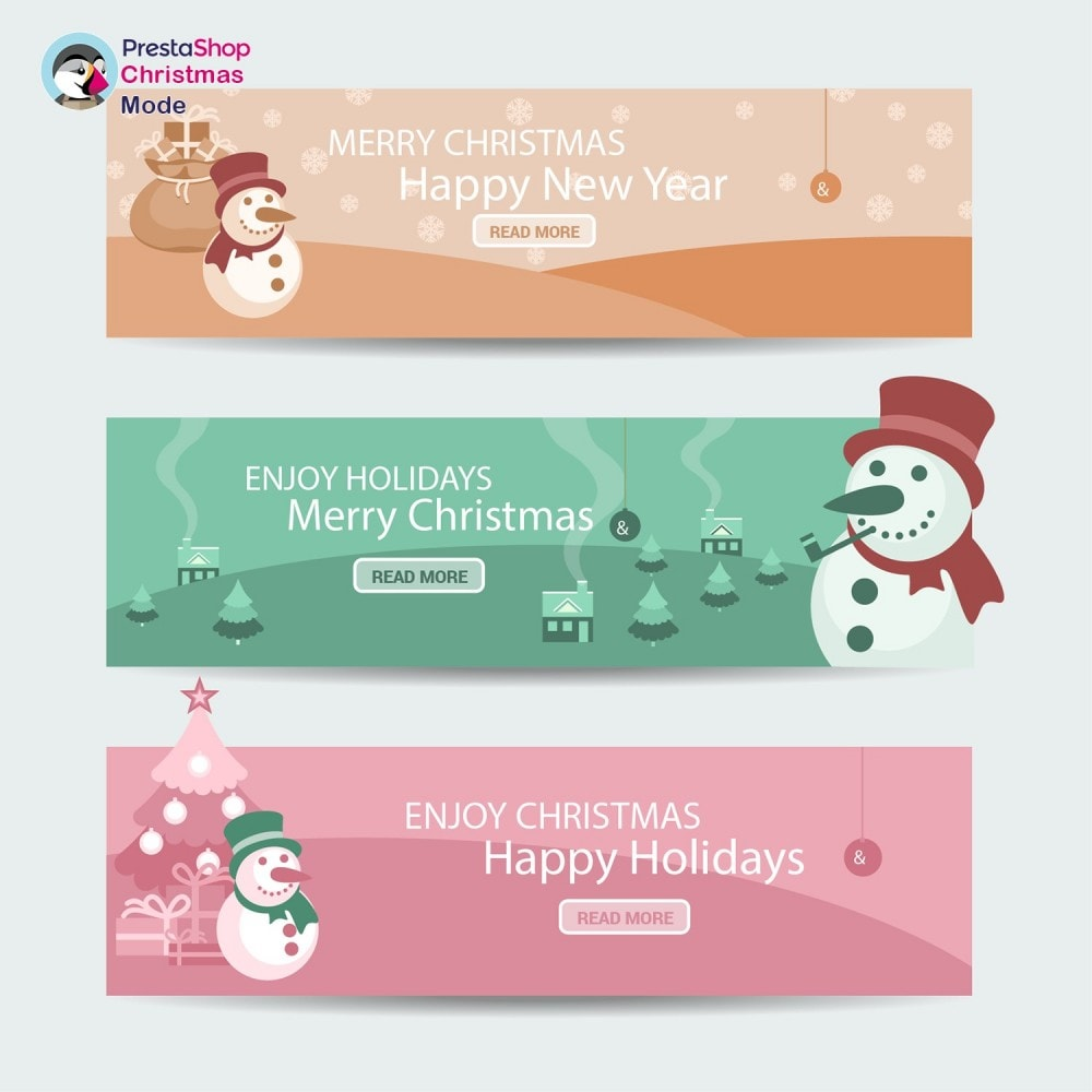module - Page Customization - Christmas Mode - Shop design customizer - 10