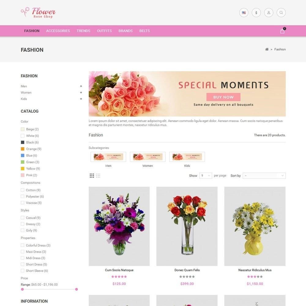 theme - Prezenty, Kwiaty & Uroczystości - Flower Store - 3